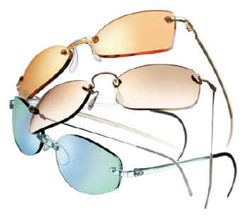 4379bf92c9e Italee s rimless vision began with the beta-titanium tension mounted Kazuo  Kawasaki collection and continues with the Swiss made