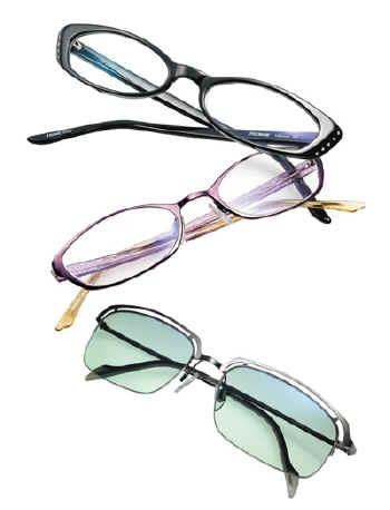 0a2fb8f98ad Via Spiga presents a collection of edgy sunglasses and sculptured frames  for prescription lenses