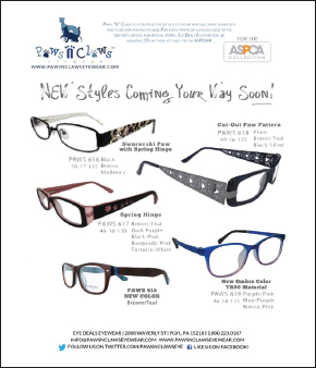 5ac0295b2820 Paws N Claws-branded eyewear will be made available to independent ECPs  through an exclusive agreement between Eyewear Inventions