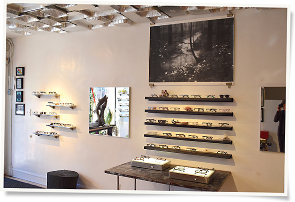 The interior of Labrabbit Optics is as interesting as its product assortment 