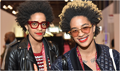 Eyewear designers Coco and Breezy DJ the Visionaries Toast on Friday