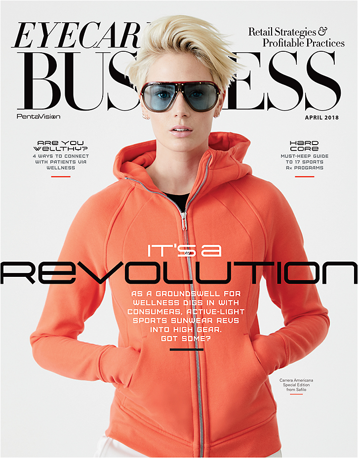 Our cover feature this month reveals the new wellness-centric active-light category of sports sunwear, made for a revolution.