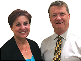 Lorie White, administrator/ optician, and Eric White, O.D.